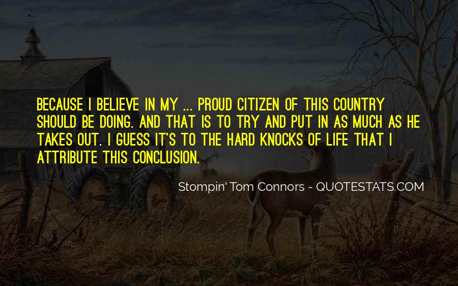 Quotes About Proud Of Your Country #725587