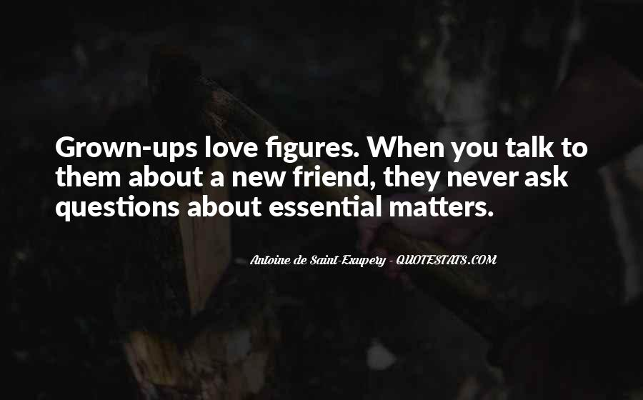 Quotes About What Matters In Love #107177