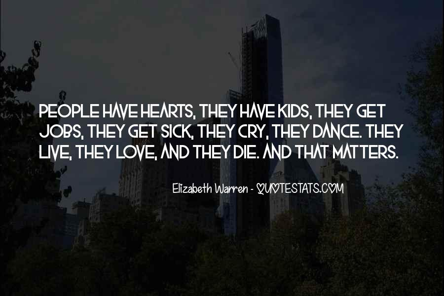 Quotes About What Matters In Love #134841