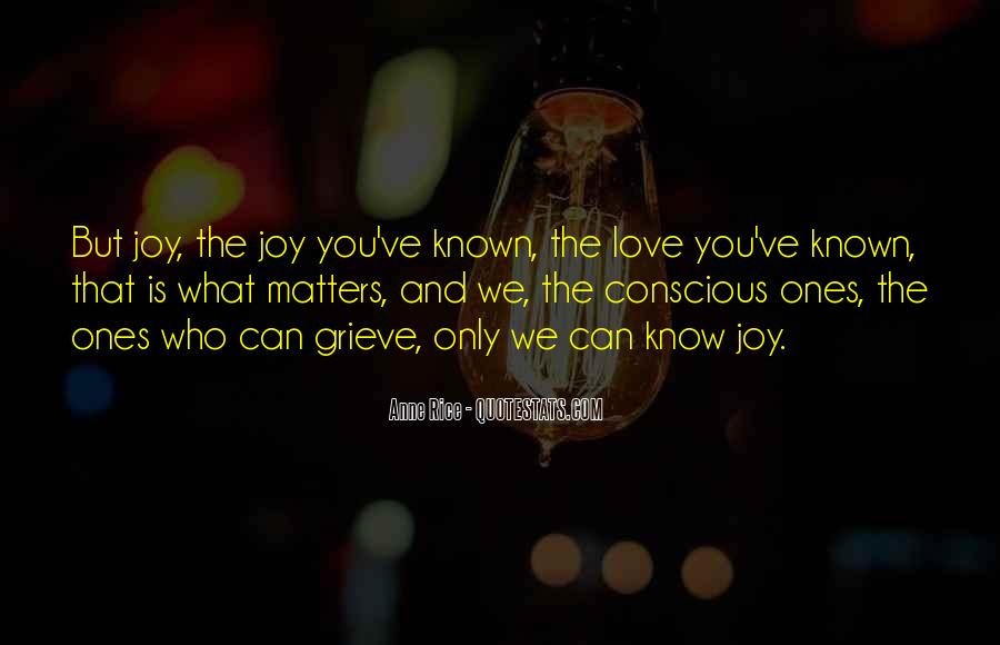 Quotes About What Matters In Love #146828