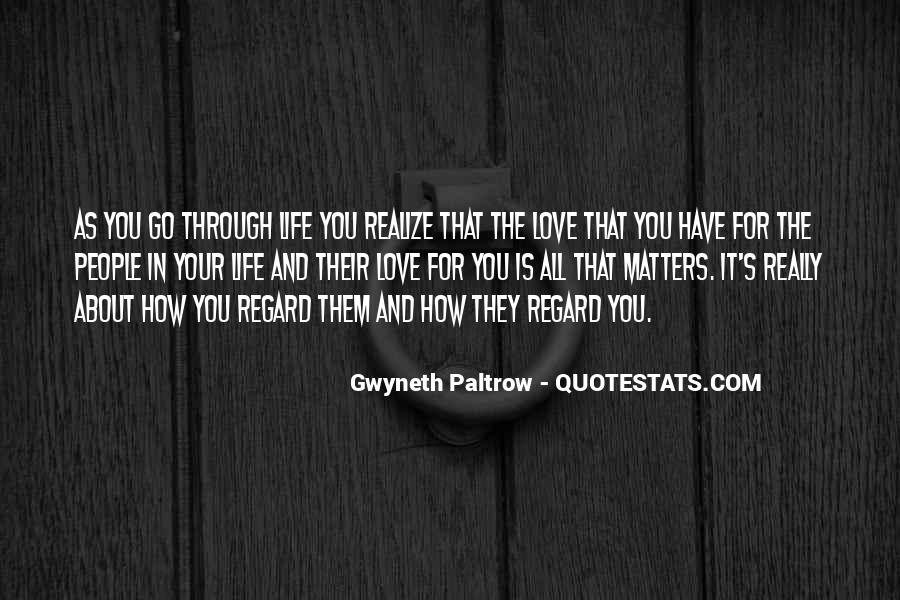 Quotes About What Matters In Love #149637