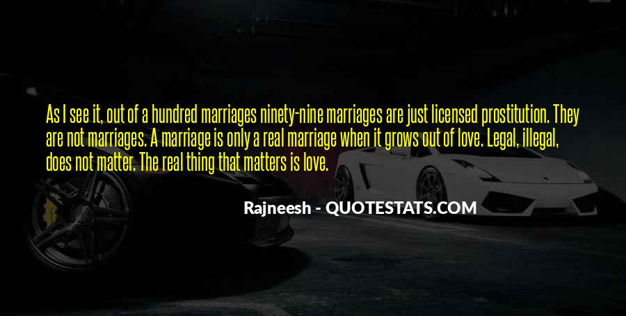 Quotes About What Matters In Love #166382