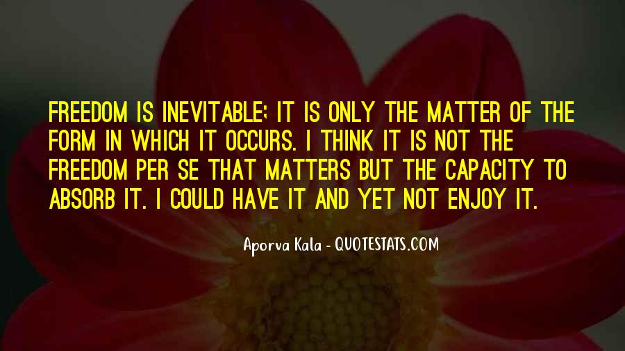 Quotes About What Matters In Love #171502