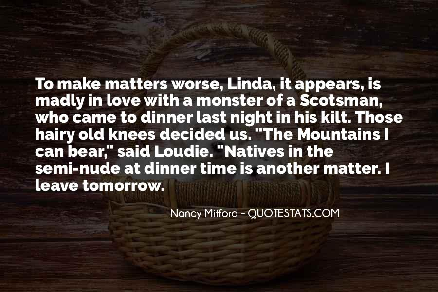 Quotes About What Matters In Love #219169