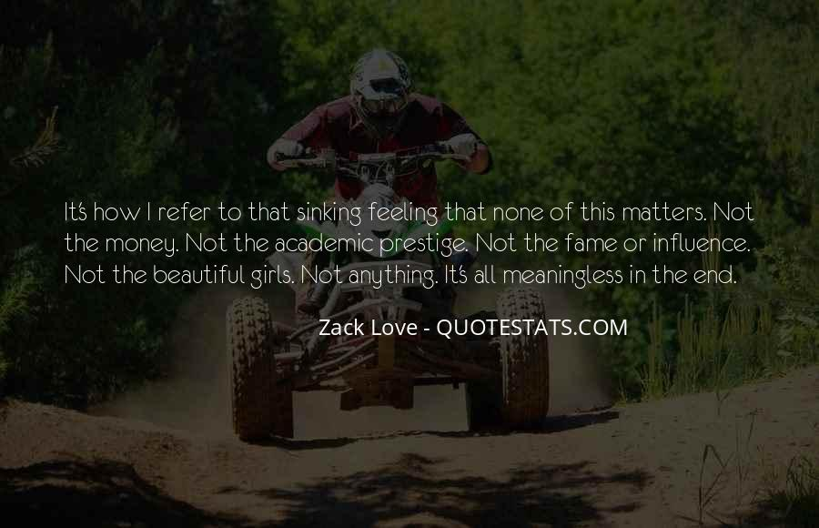 Quotes About What Matters In Love #222901
