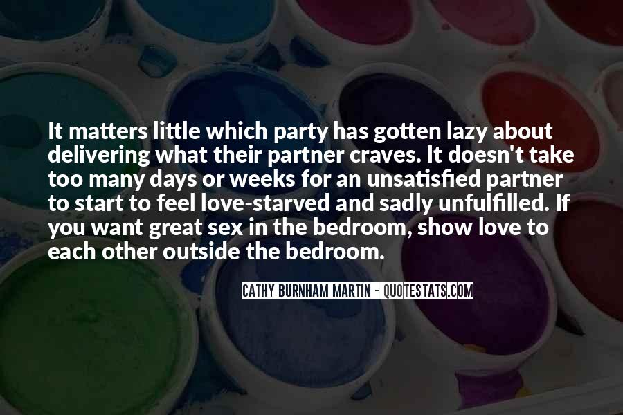 Quotes About What Matters In Love #327267