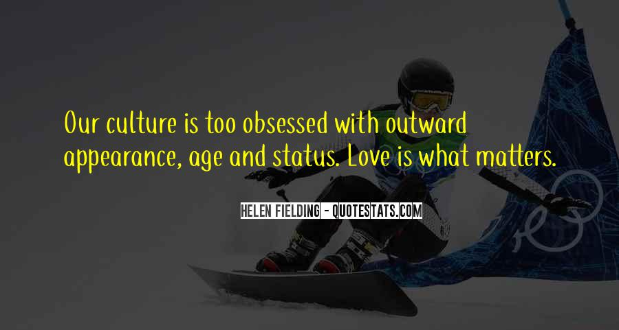 Quotes About What Matters In Love #391728