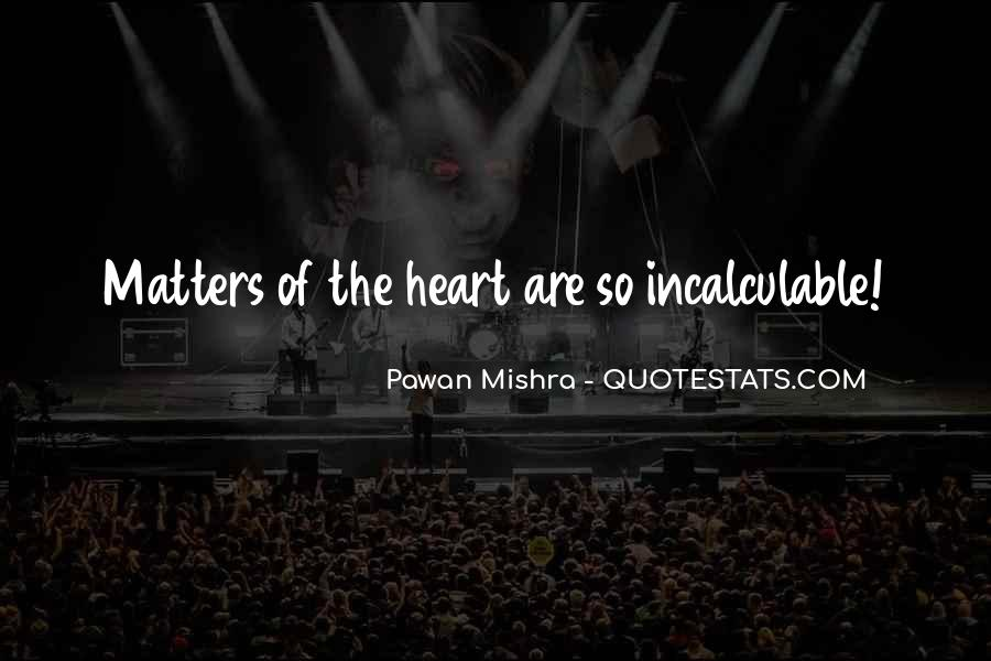 Quotes About What Matters In Love #41819