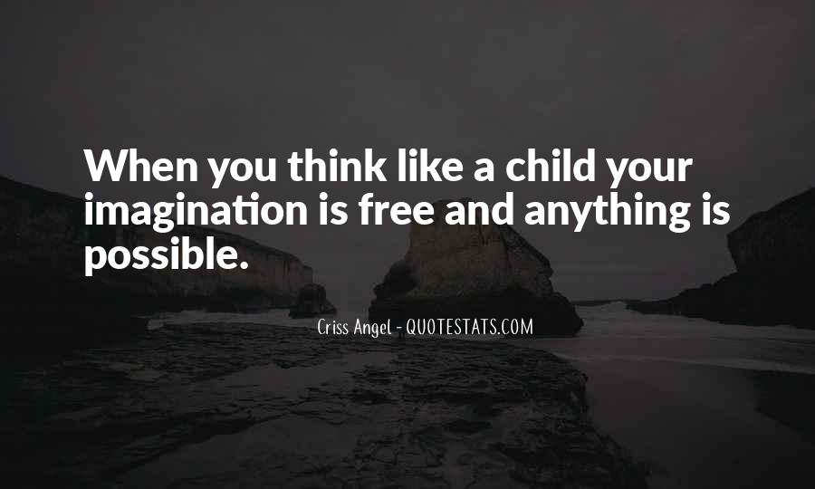 Quotes About A Child's Imagination #1116261
