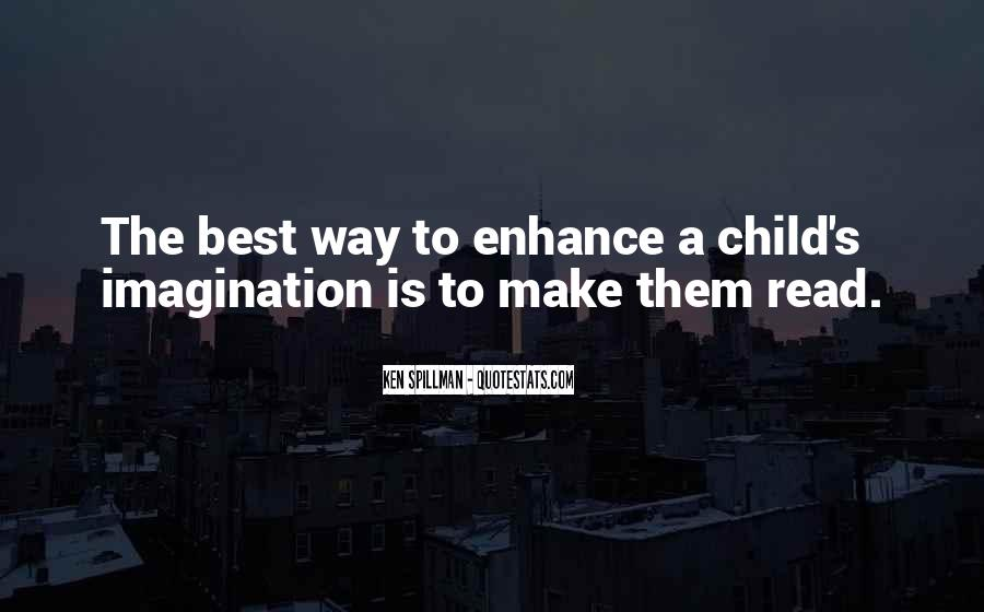 Quotes About A Child's Imagination #123021