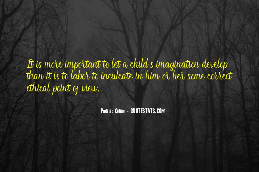 Quotes About A Child's Imagination #1631340