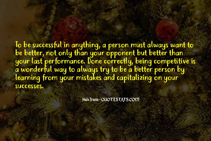 Quotes About Sports Person #1003387
