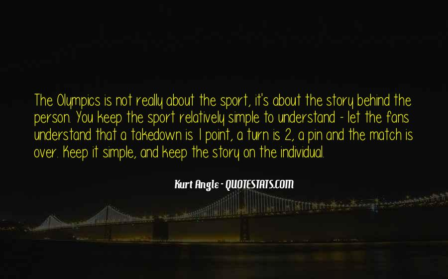 Quotes About Sports Person #1111085