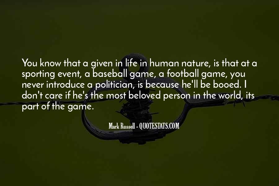 Quotes About Sports Person #1138212