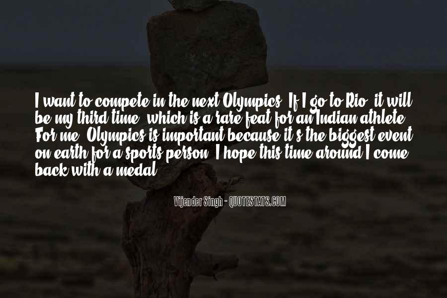 Quotes About Sports Person #185654