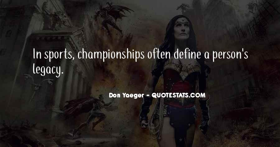 Quotes About Sports Person #90094
