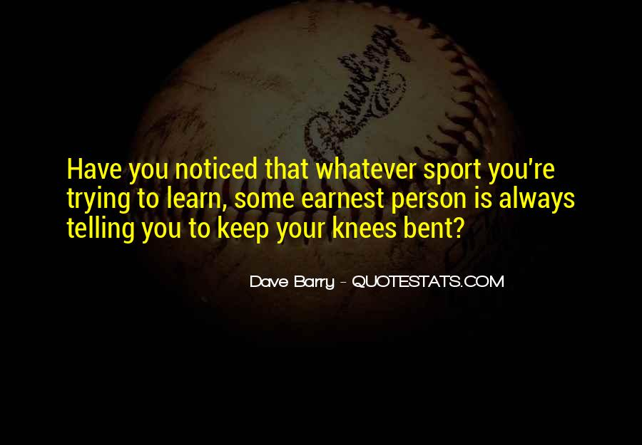 Quotes About Sports Person #936407