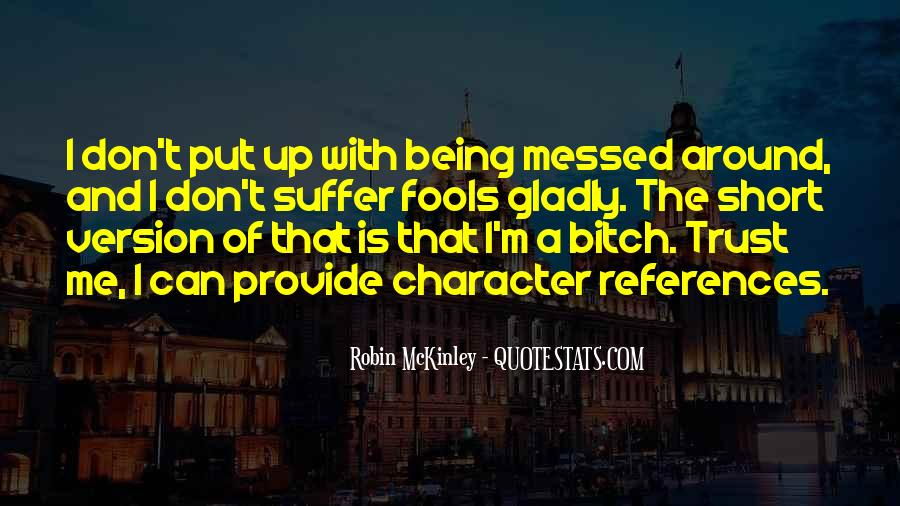 Quotes About Character References #1776448