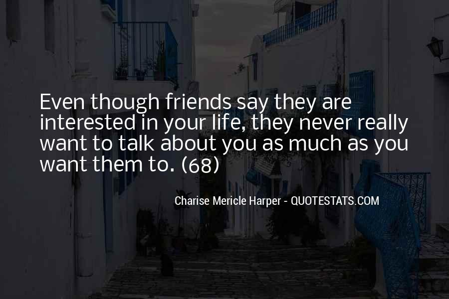 Quotes About Really Friends #151239