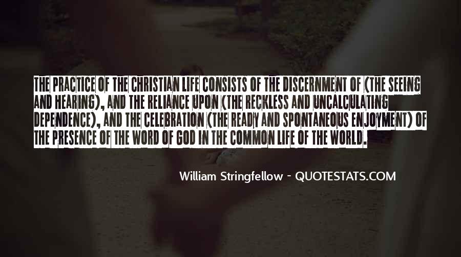 Quotes About Discernment Christian #1808518