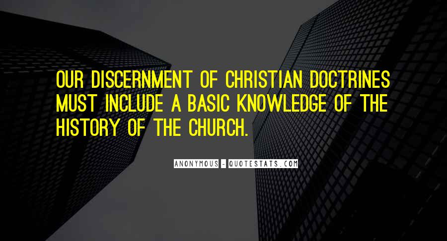 Quotes About Discernment Christian #460369