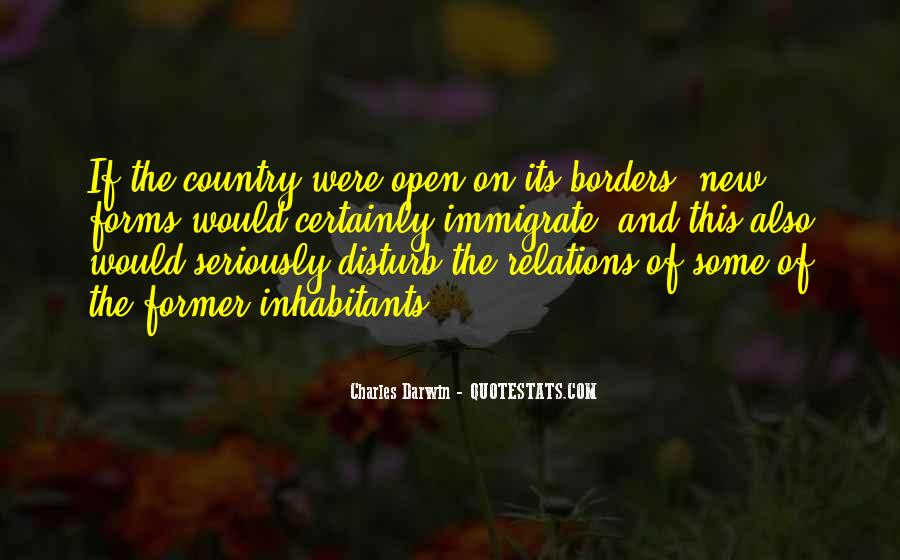 Quotes About Open Borders #136052