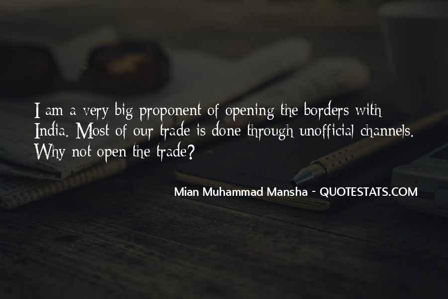 Quotes About Open Borders #261257