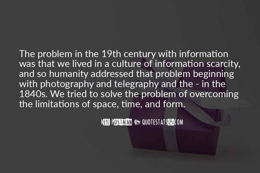 Quotes About Scarcity Of Time #1561436