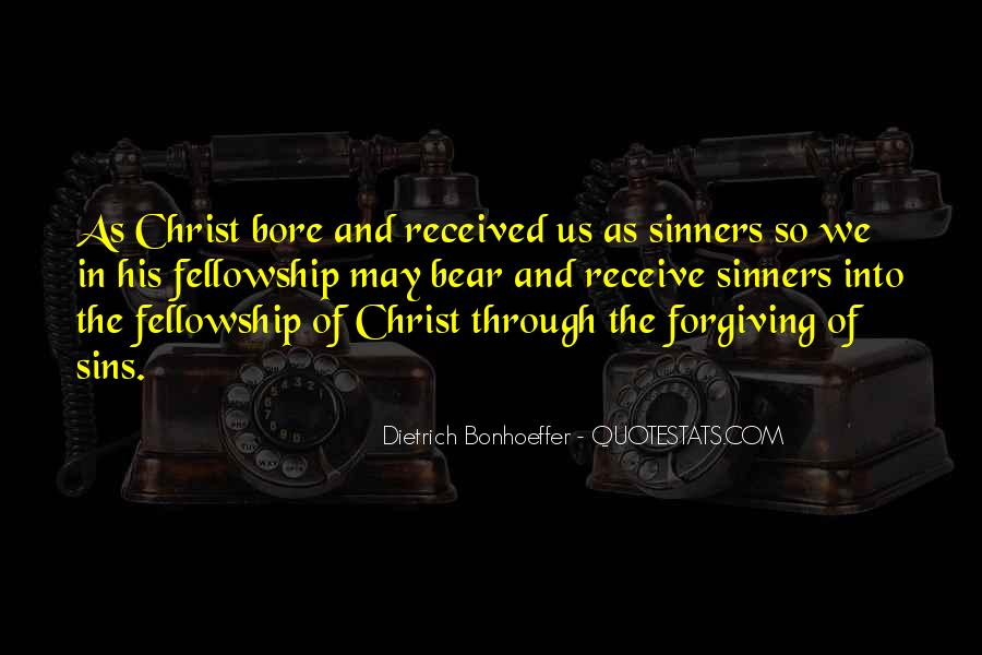 Quotes About Forgiving Sinners #724748
