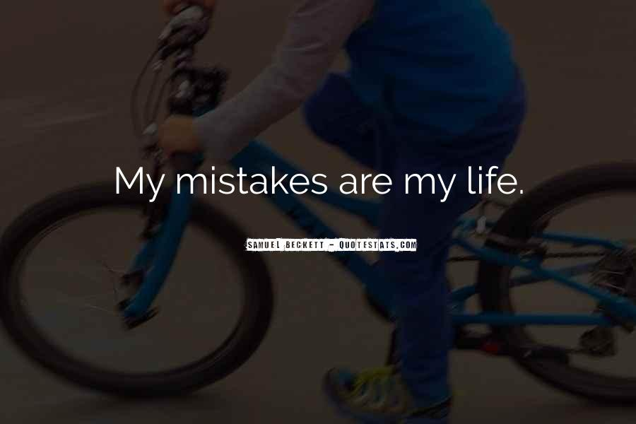 Quotes About Sorry For My Mistakes #2424