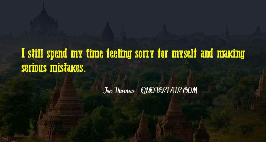 Quotes About Sorry For My Mistakes #837287