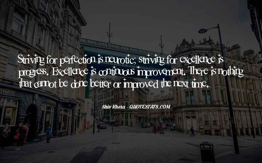 Quotes About Striving For Better #1219745