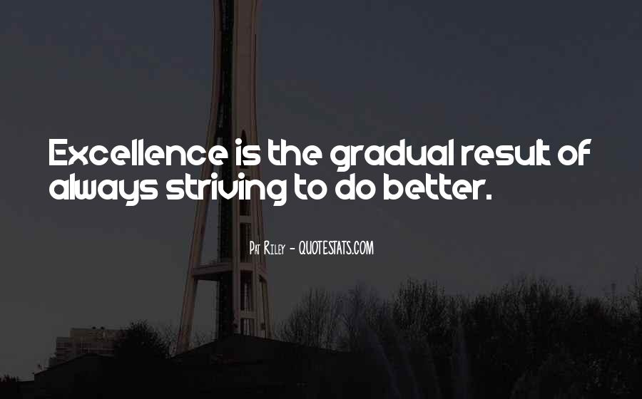 Quotes About Striving For Better #1509659