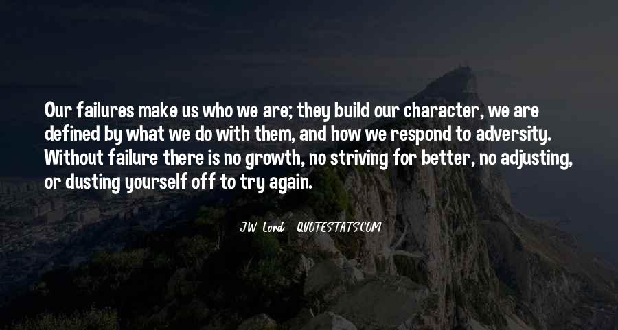Quotes About Striving For Better #1781243