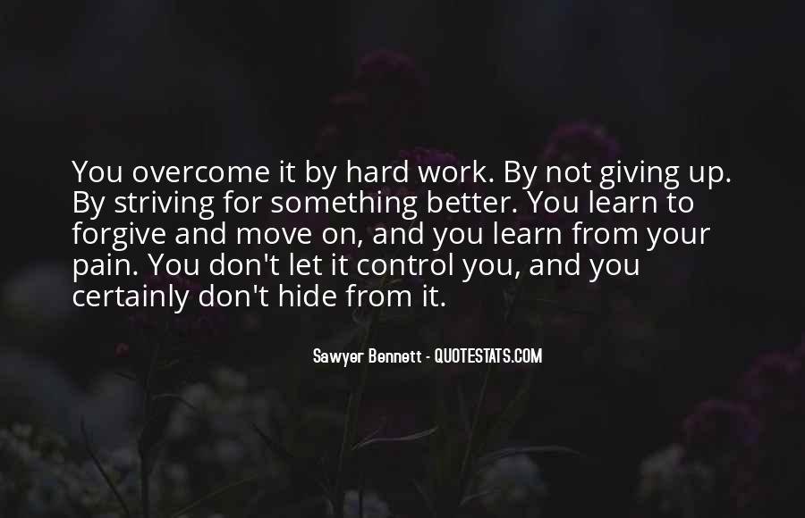 Quotes About Striving For Better #481713
