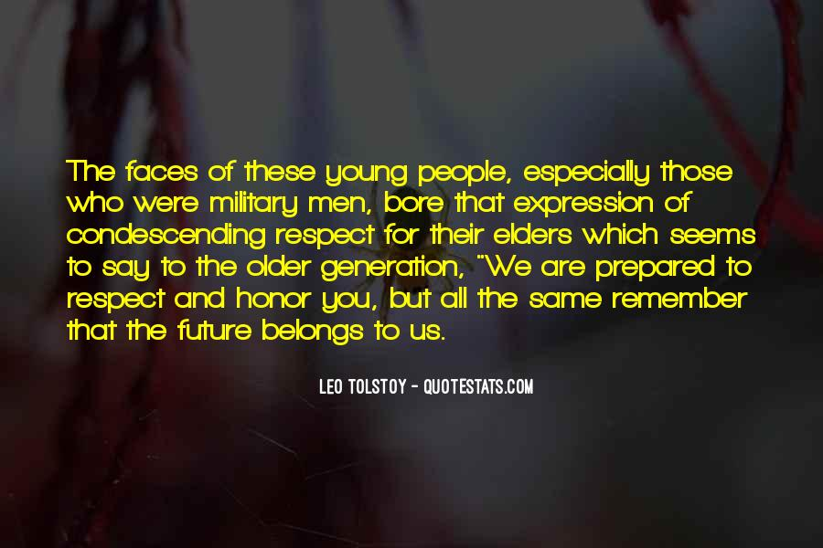 Quotes About Respect For Elders #1426268
