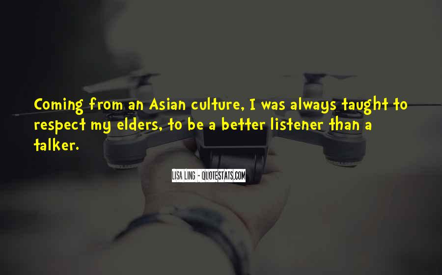 Quotes About Respect For Elders #1517508