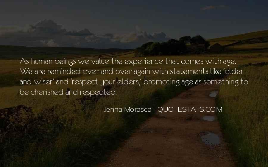 Quotes About Respect For Elders #185343