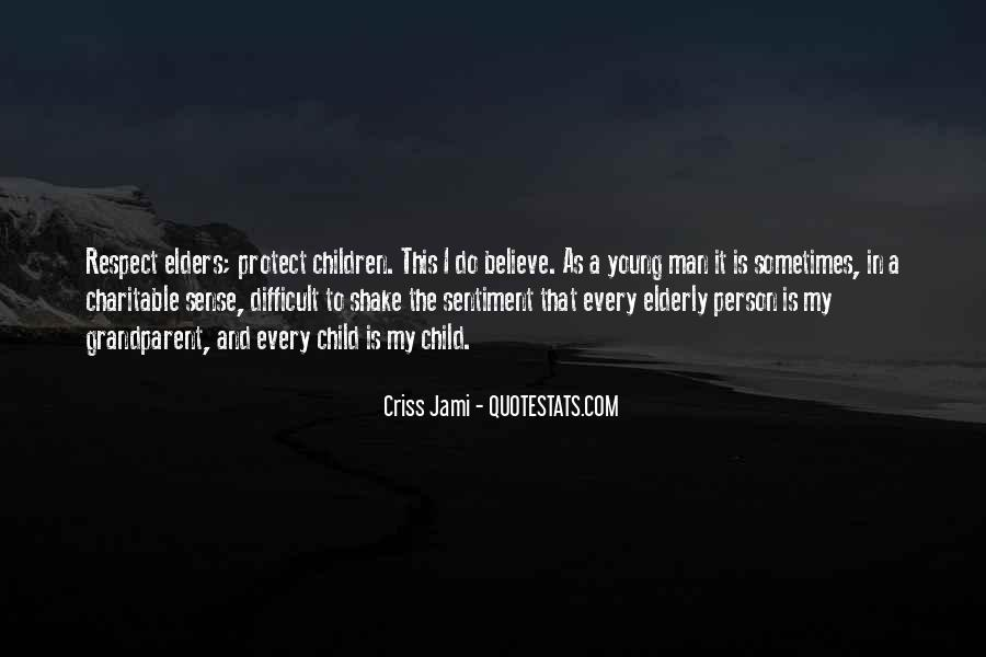 Quotes About Respect For Elders #933101