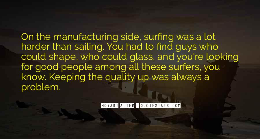 Quotes About Manufacturing #112992