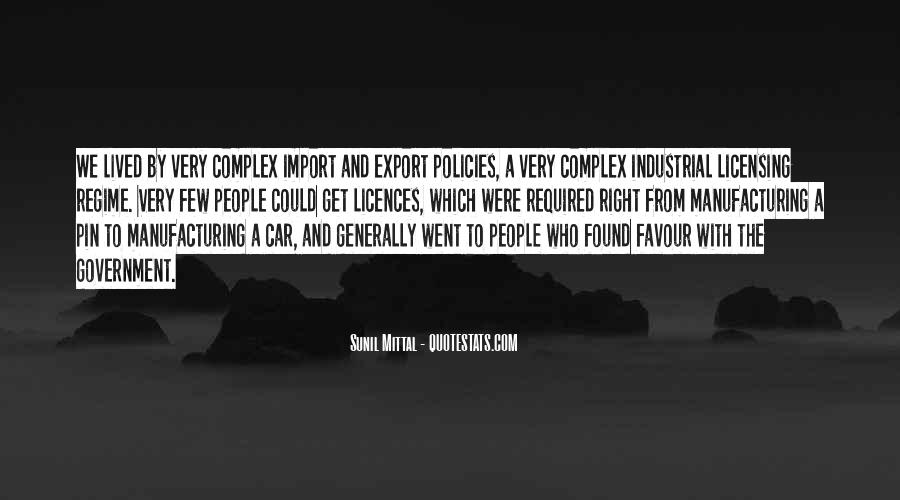 Quotes About Manufacturing #15101