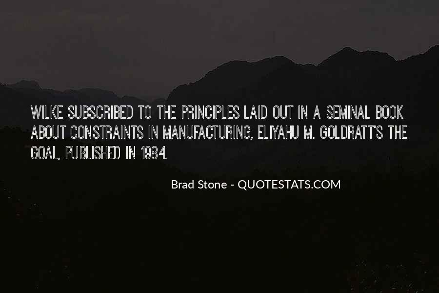 Quotes About Manufacturing #156689
