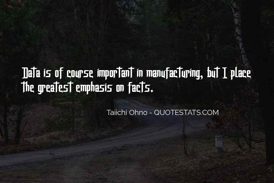 Quotes About Manufacturing #171311