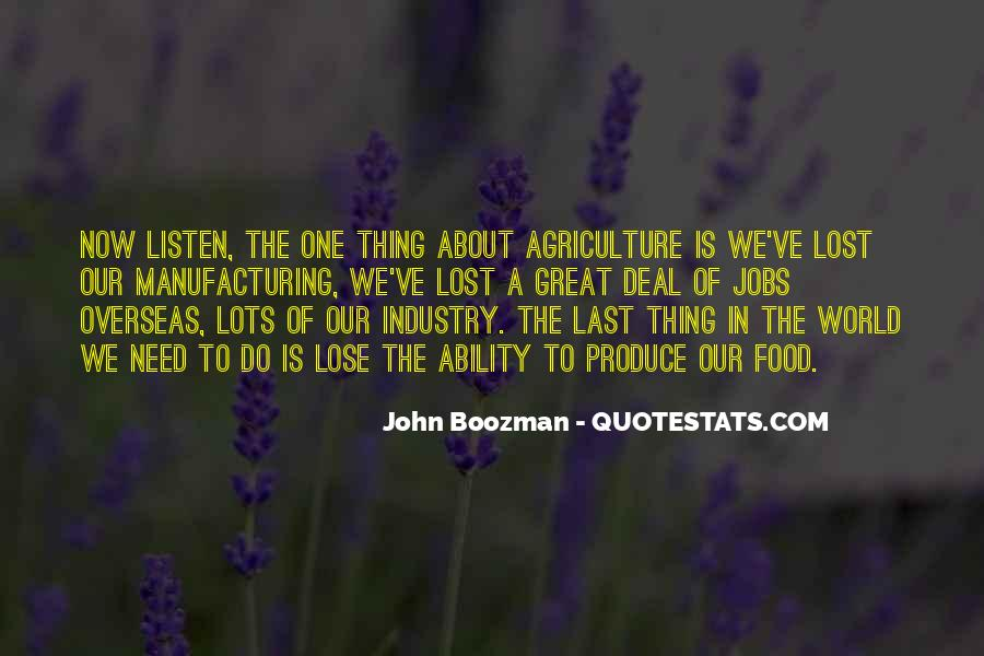 Quotes About Manufacturing #189306