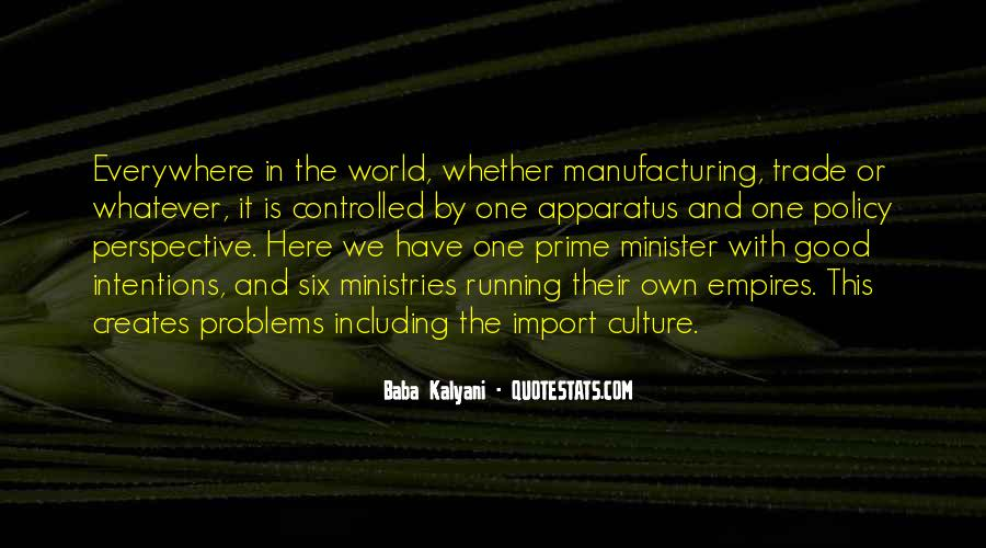 Quotes About Manufacturing #215226