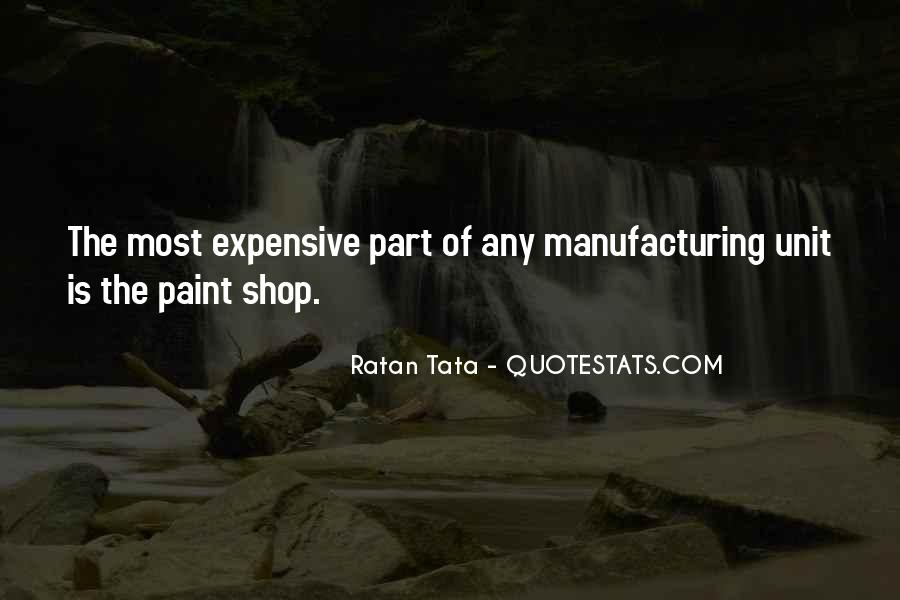 Quotes About Manufacturing #255167