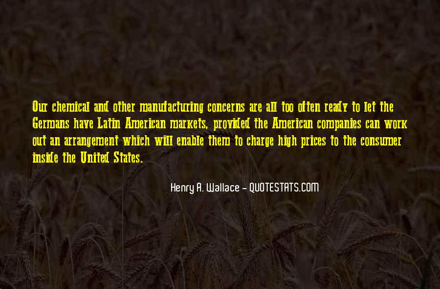 Quotes About Manufacturing #270136