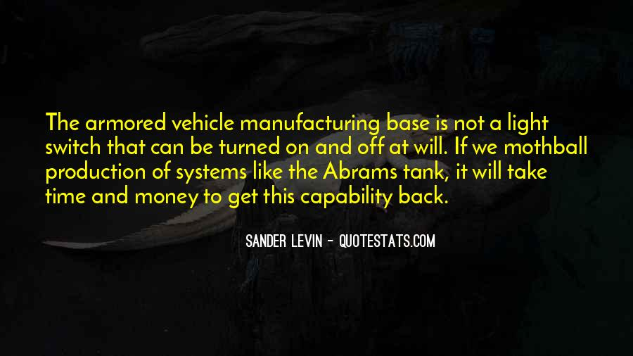 Quotes About Manufacturing #290866
