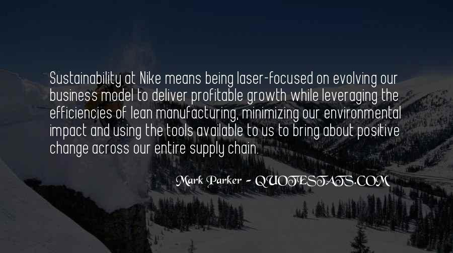 Quotes About Manufacturing #3187