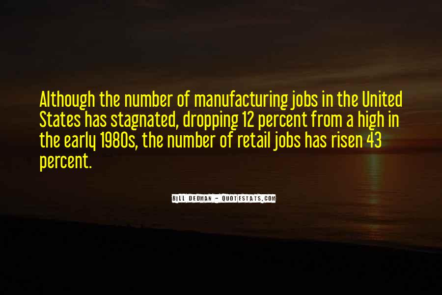 Quotes About Manufacturing #339198